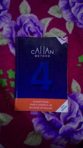 Livro de inglês callan 4