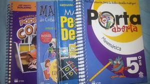 Livros de Matemática para o concurso de admissão CMM