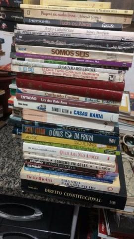 Lote de 500 livros