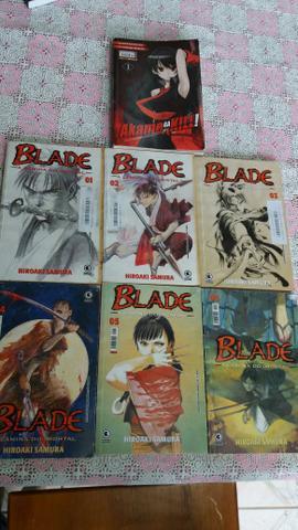 Mangas blade e Akame GA Kill