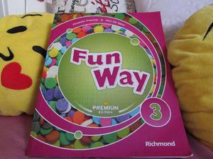 Quer um livro de inglês? Aqui está Fun Way 3 (3º ano)