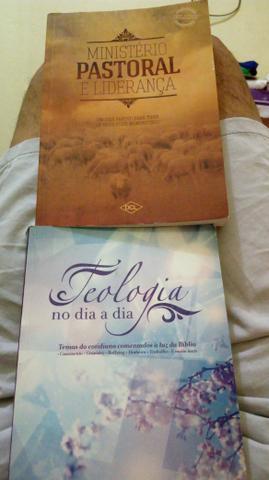 Vendo esses dois livros para estudo Teológico e Ministério