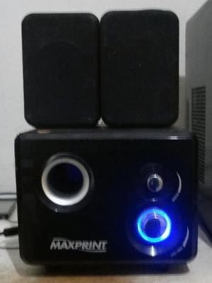Caixa de som pc subwoofer 15 watts