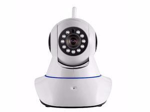 Câmera Wi-fi Com Ip Dinâmico Visão Noturna Giratória