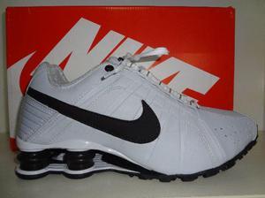 Nike Shox Junior Branco TM  Aceito Cartões
