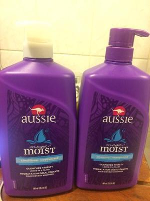 Shampoo e Condicionador Aussie 1L