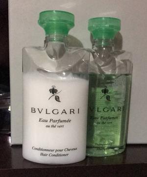 shampoo e condicionador bvlgari