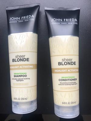 shampoo e condicionador john frieda