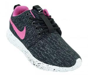 Tênis Feminino Nike Roshe One Rajado Grafite e Rosa