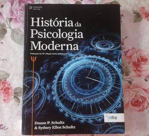 História da Psicologia Moderna - Schultz