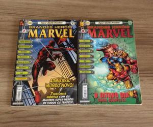 Hq Grandes Heróis Marvel Vol.1 e 9