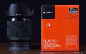 Lente Sony Fe mm F/ Oss Lens