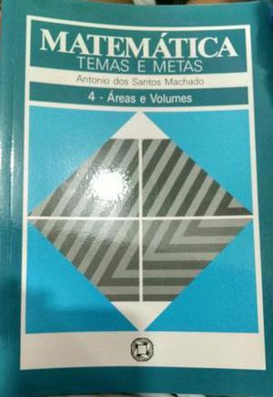 Livro Matemática Temas e Metas
