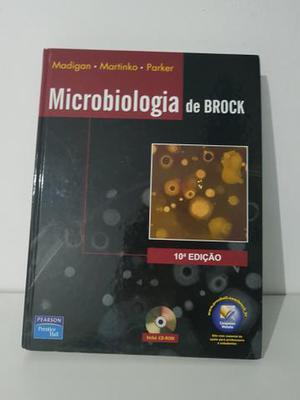 Livro Microbiologia de Brock 10a edição