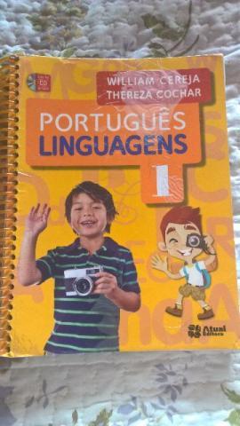 Livro de Português Linguagens 1 - em ótimo estado