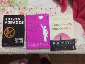 Livros semi novos 10 reais cada
