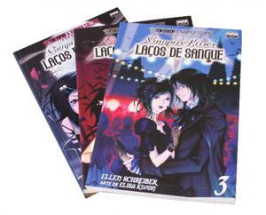 Mangá Vampire Kiss Vol.1 ao 3 - New POP -