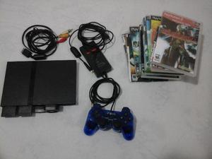 Playstation 2 SLIM desbloqueado com Matrix Infinity