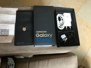 Samsung S7 Edge Black Piano 128Gb com 11 meses de