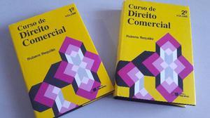 Vendo Livros Coleção Curso de Direito Comercial,