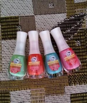 Kit Esmaltes Turma da Mônica Beauty Color