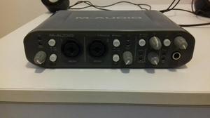 M-audio Fast Track Pro muito nova