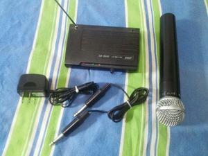 Microfone Sem Fio Leson SM 58