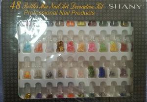 kit de decoração para unhas!