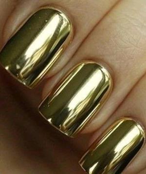 unha dourada
