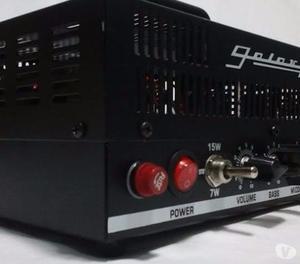 Amplificador Totalmente Valvulado De Guitarra Galaxy 15w, 7w