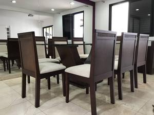 Mesa de Jantar Retangular 8 lugares