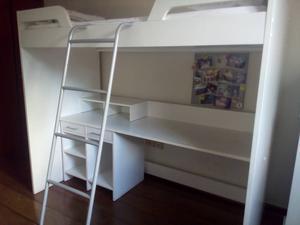 Sistema quarto integrado (cama-escrivaninha)