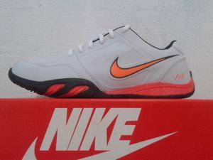 Tenis Nike Novo na Caixa Branco com Laranja Masculino