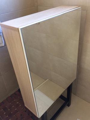 Armario com espelho para banheiro em inox  Posot Class -> Armario De Banheiro Com Espelho Inox