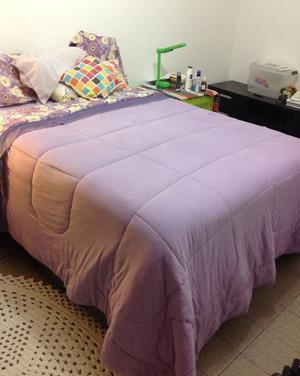 cama de casal baú + colchão de casal