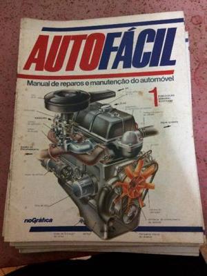 Coleção Auto Fácil Manual de Reparos e Manutenção de