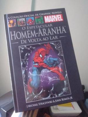 Coleção Marvel Salvat: Homem Aranha de volta ao Lar
