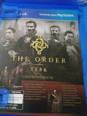 Jogo The Order  PS4