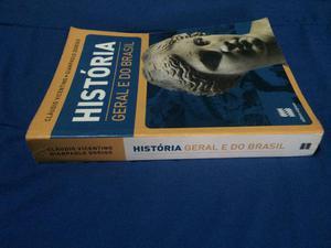 Livro HISTÓRIA GERAL E DO BRASIL