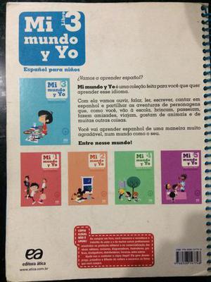 Livro Mi Mundo Y Yo vol.3