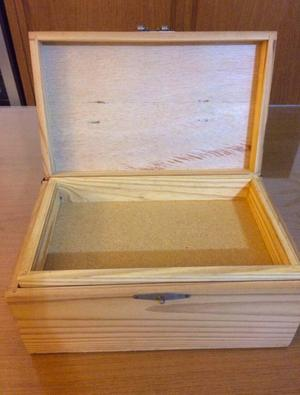 caixa organizadora de madeira