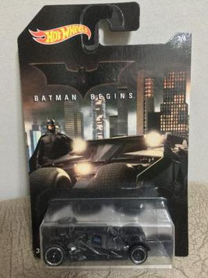 Carrinho Batman Begins Batmobile Hot Wheels - Carro 1/64