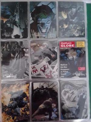 Coleção De Cards Batman Master Series´)