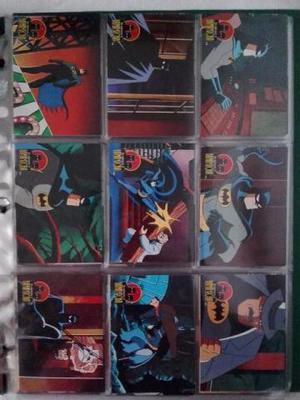 Coleção De Cards The Adventures Of Batman & Robin ()