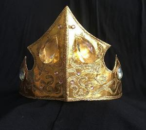 Coroa bela adormecida aurora
