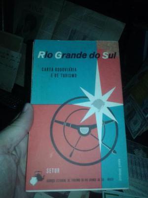 Década de 60 Rio Grande do Sul mapa e turismo