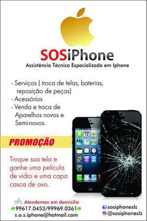 Tela para todos os tipos de iPhone