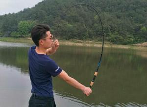 Vara de pesca + Molinete + Linha Multifilamento 12 kg Alta