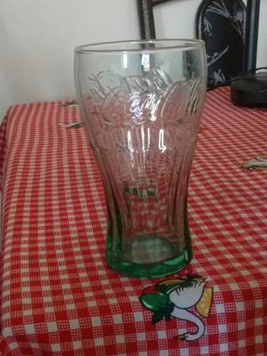 copo da Coca cola de vidro