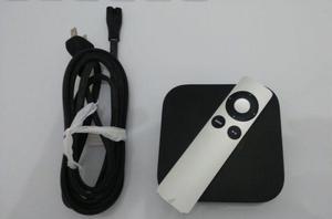 Apple Tv 3ª Geração Com Cabo De Energia E Controle Remoto